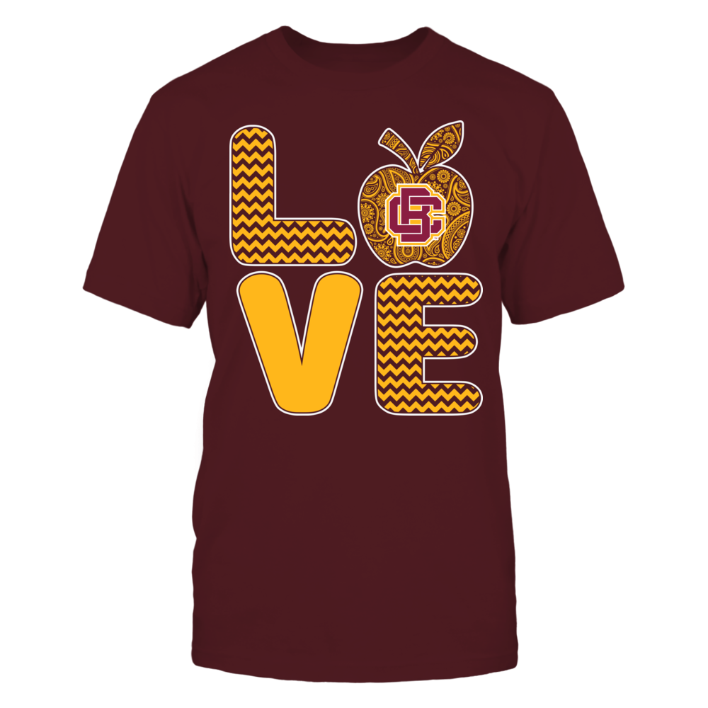 Bethune-Cookman Wildcats - Pattern Stacked - Love - Football - Team Front picture
