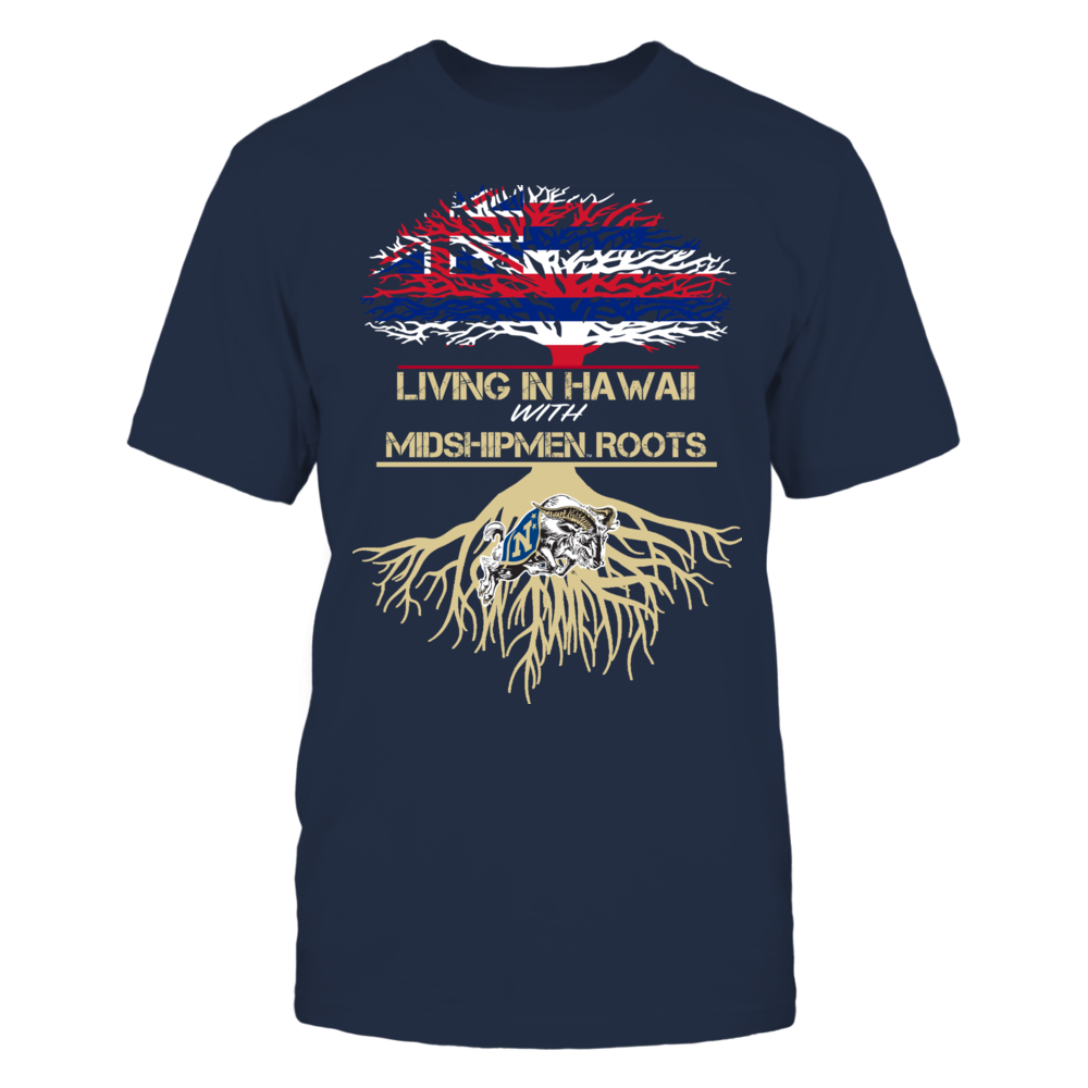 Navy Midshipmen - Living Roots Hawaii Front picture