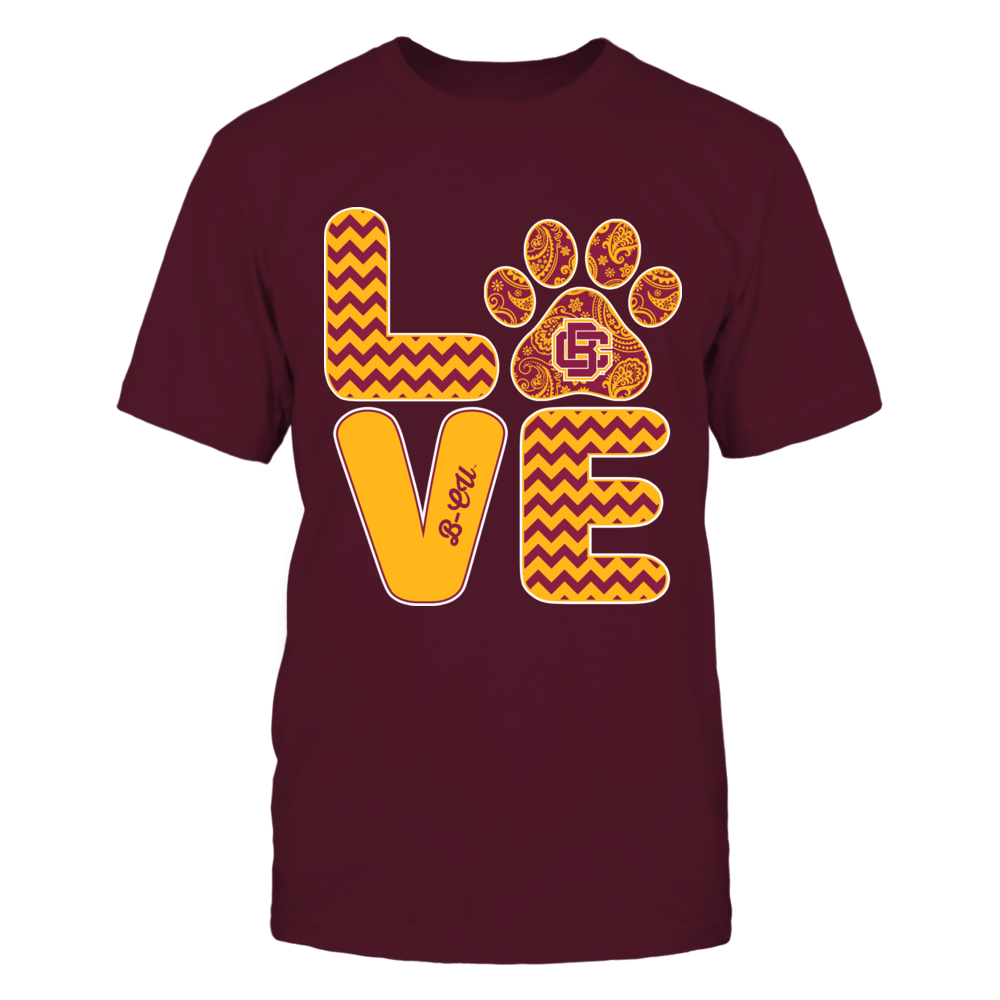 Bethune-Cookman Wildcats - Love - Paw - IF13-IC13-DS64 Front picture