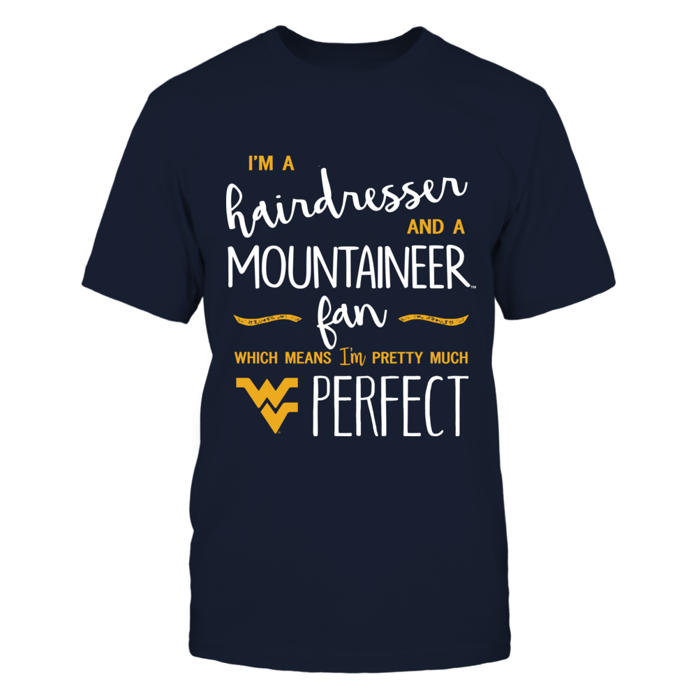 West Virginia Mountaineers - Perfect Hairdresser - IF13-IC13-DS64 Front picture