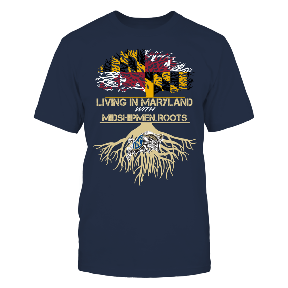 Navy Midshipmen - Living Roots Maryland Front picture