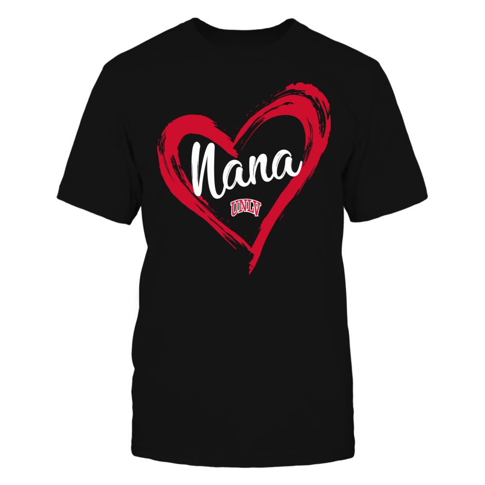UNLV Rebels - Drawing Heart - Nana Front picture