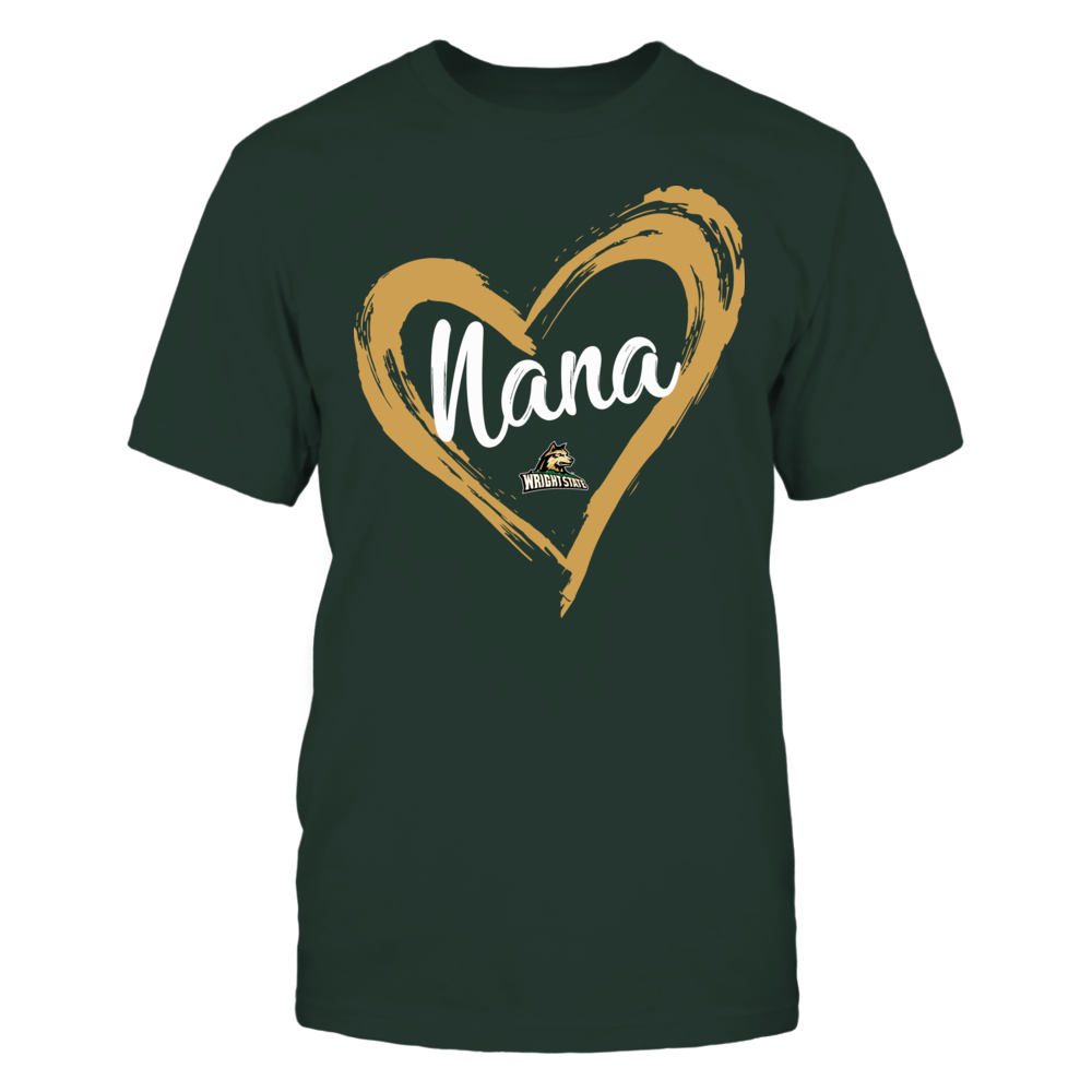 Wright State Raiders - Drawing Heart - Nana Front picture