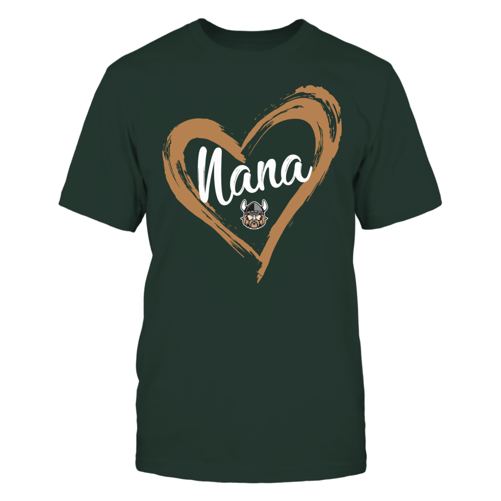Cleveland State Vikings - Drawing Heart - Nana Front picture