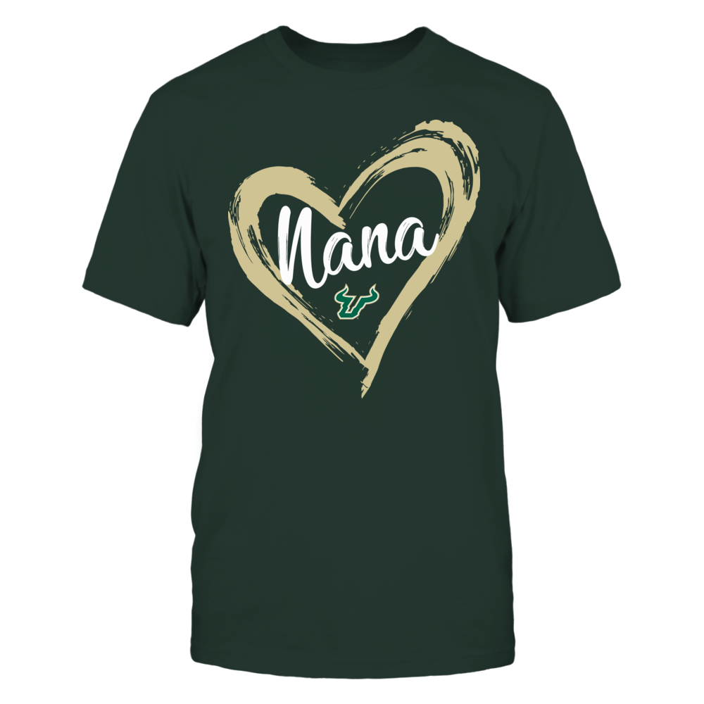 South Florida Bulls - Drawing Heart - Nana Front picture