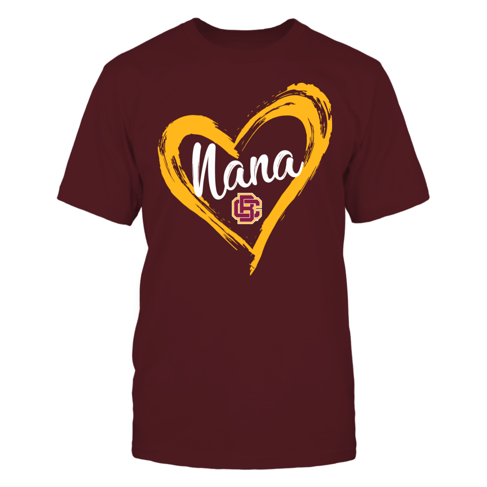 Bethune-Cookman Wildcats - Drawing Heart - Nana Front picture
