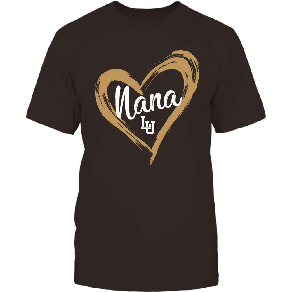 Lehigh Mountain Hawks - Drawing Heart - Nana Front picture