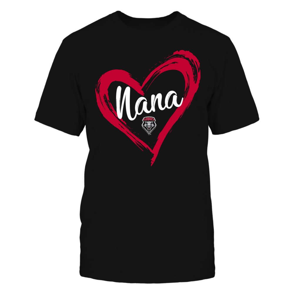 New Mexico Lobos - Drawing Heart - Nana Front picture