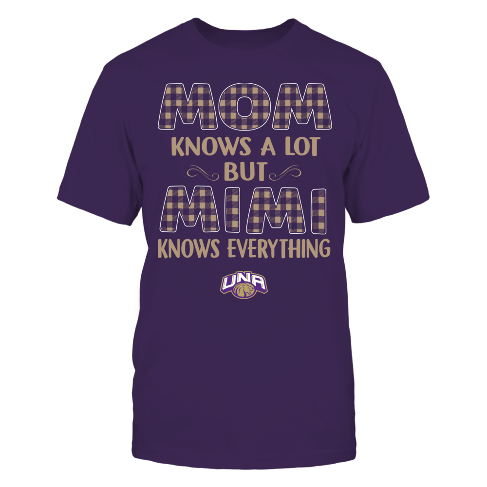 North Alabama Lions - Mom Knows A Lot - Mimi Knows Everything - Team Front picture