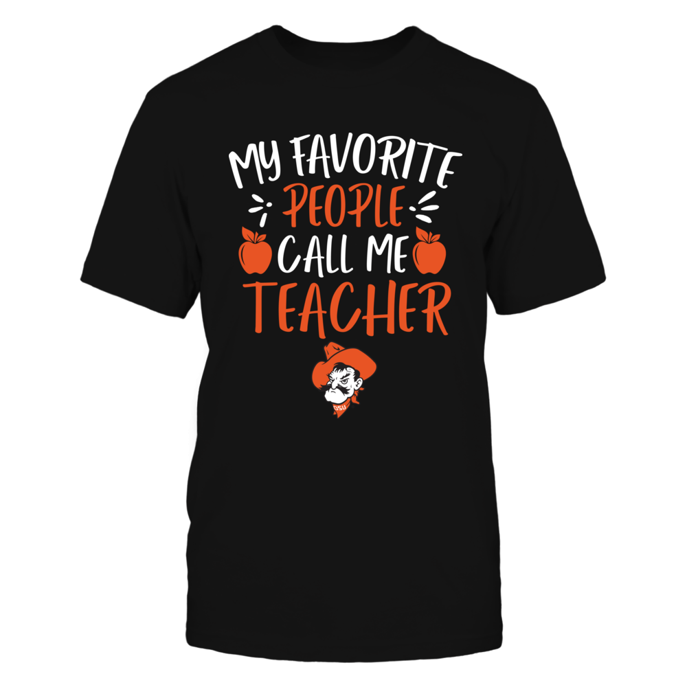 Oklahoma State Cowboys - My Favorite People Call Me Teacher Front picture