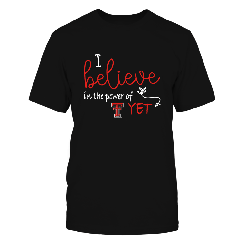 Texas Tech Red Raiders - Teacher - Believe In Power Of Yet - IF13-IC13-DS27 Front picture
