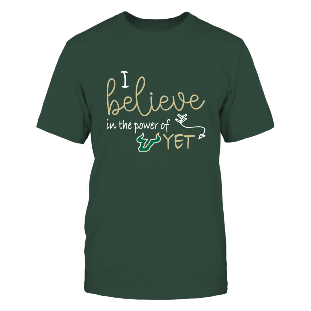 South Florida Bulls - Teacher - Believe In Power Of Yet - IF13-IC13-DS27 Front picture