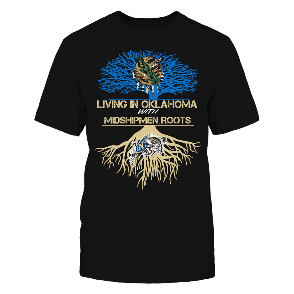 Navy Midshipmen - Living Roots Oklahoma Front picture