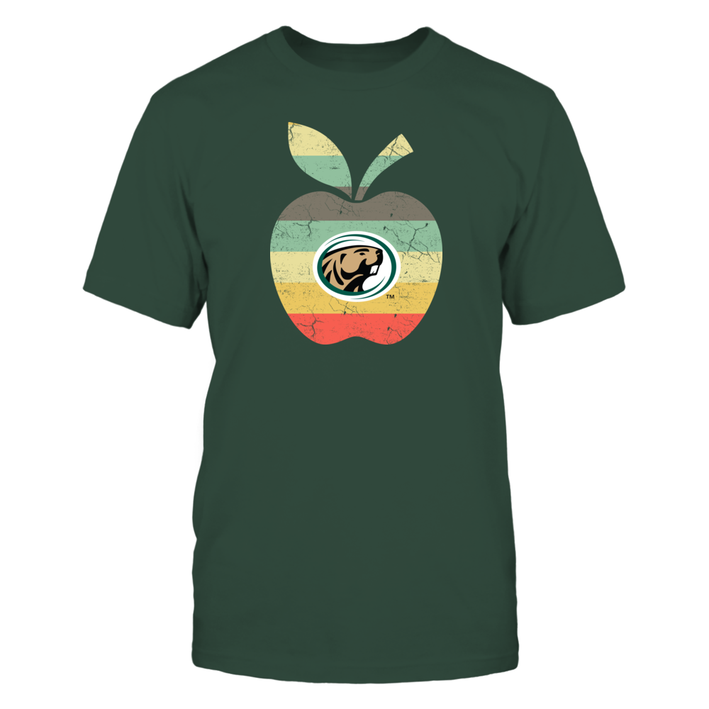 Bemidji State Beavers - Teacher - Apple Vintage Graphic Front picture