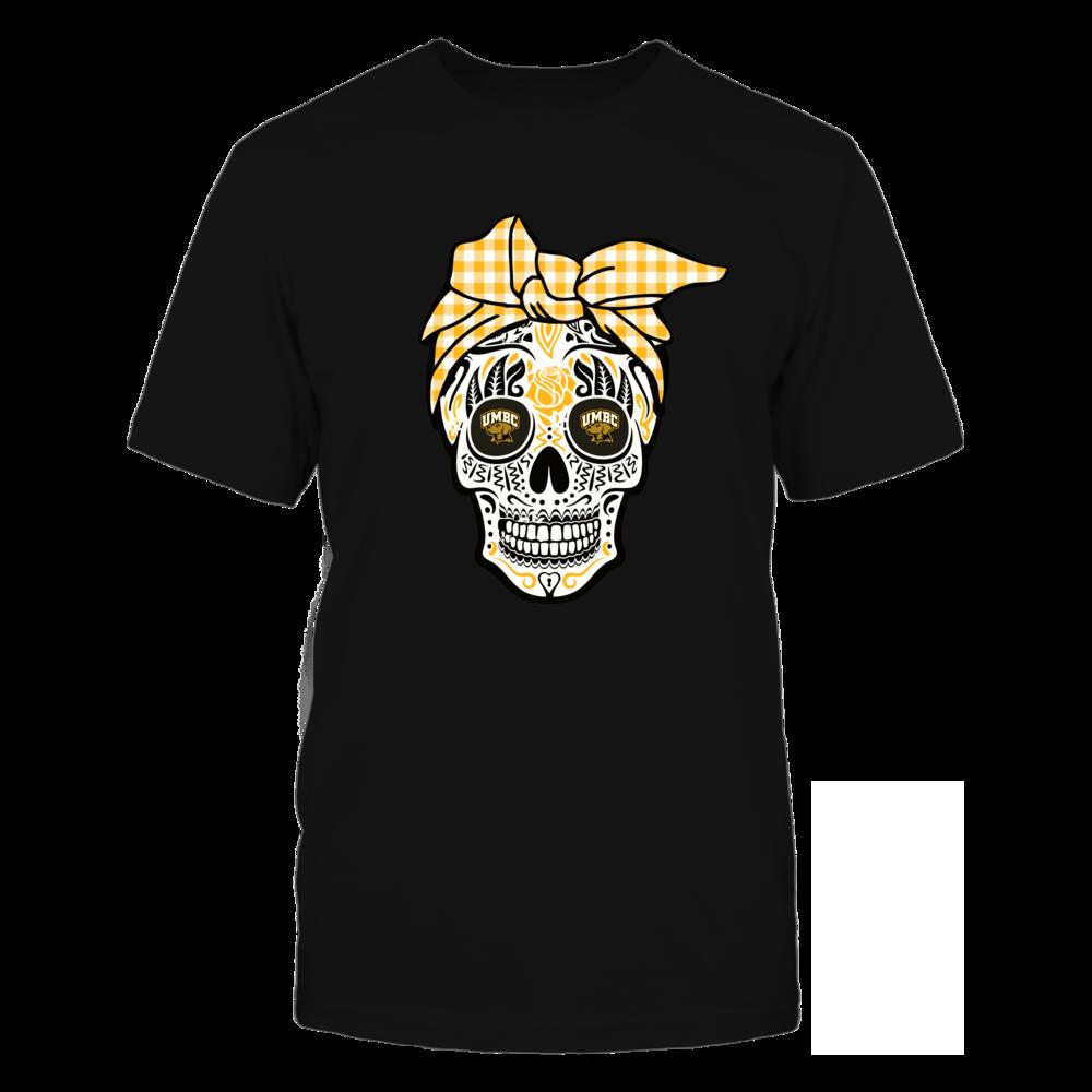 UMBC Retrievers - Sugar Skull - Turban Front picture
