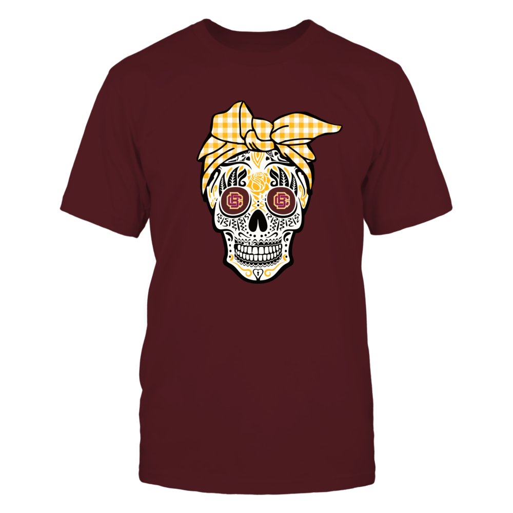 Bethune-Cookman Wildcats - Sugar Skull - Turban Front picture