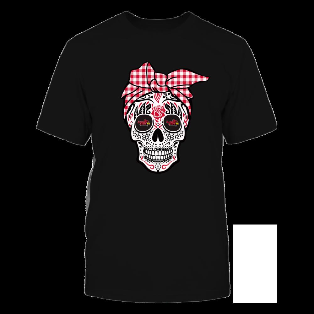 Illinois State Redbirds - Sugar Skull - Turban Front picture