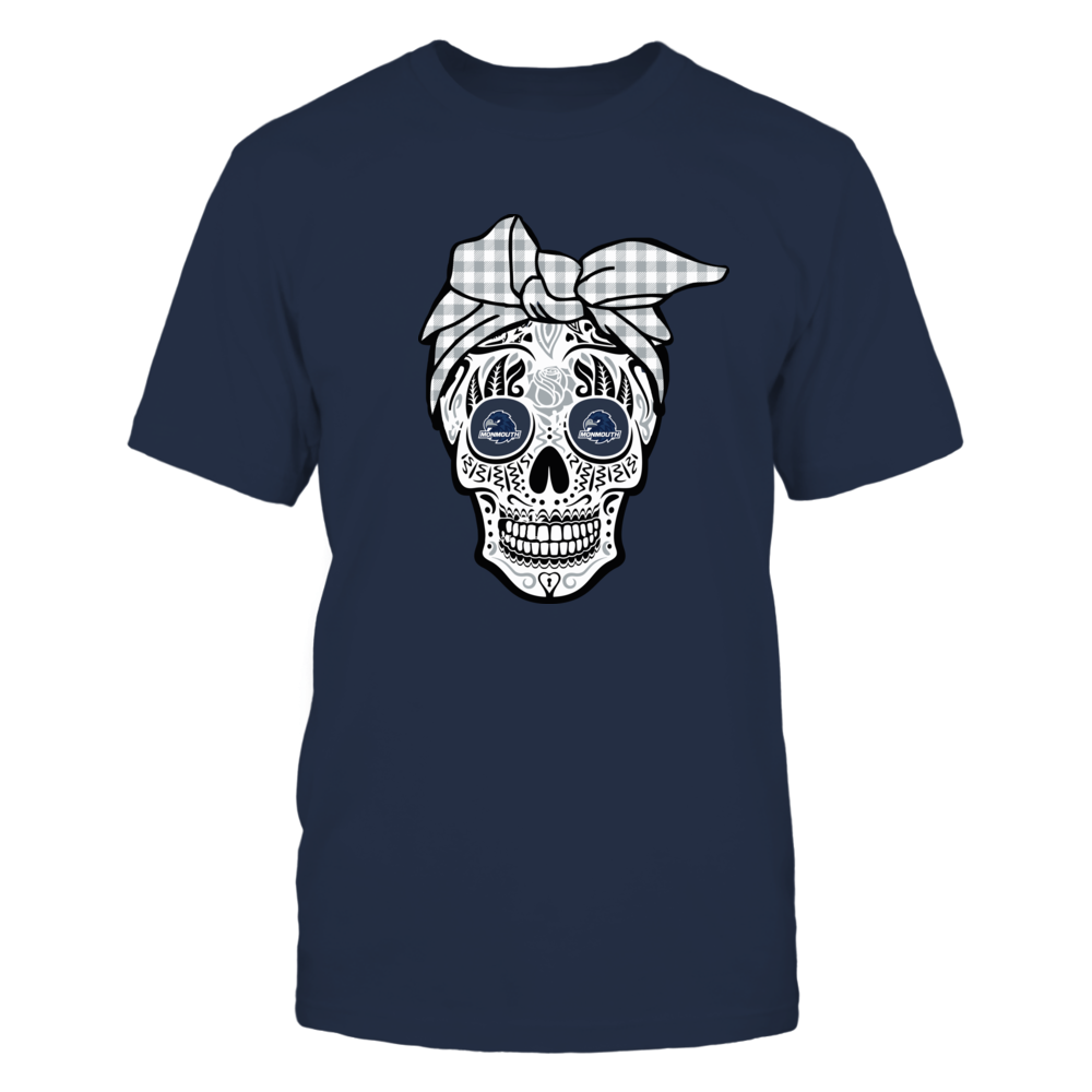 Monmouth Hawks - Sugar Skull - Turban Front picture