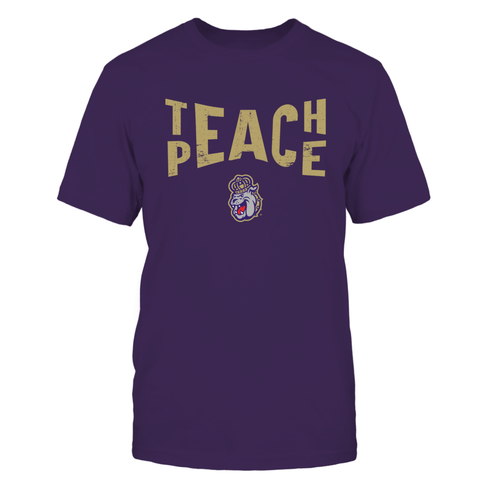 James Madison Dukes - Teach Peace - Team Front picture
