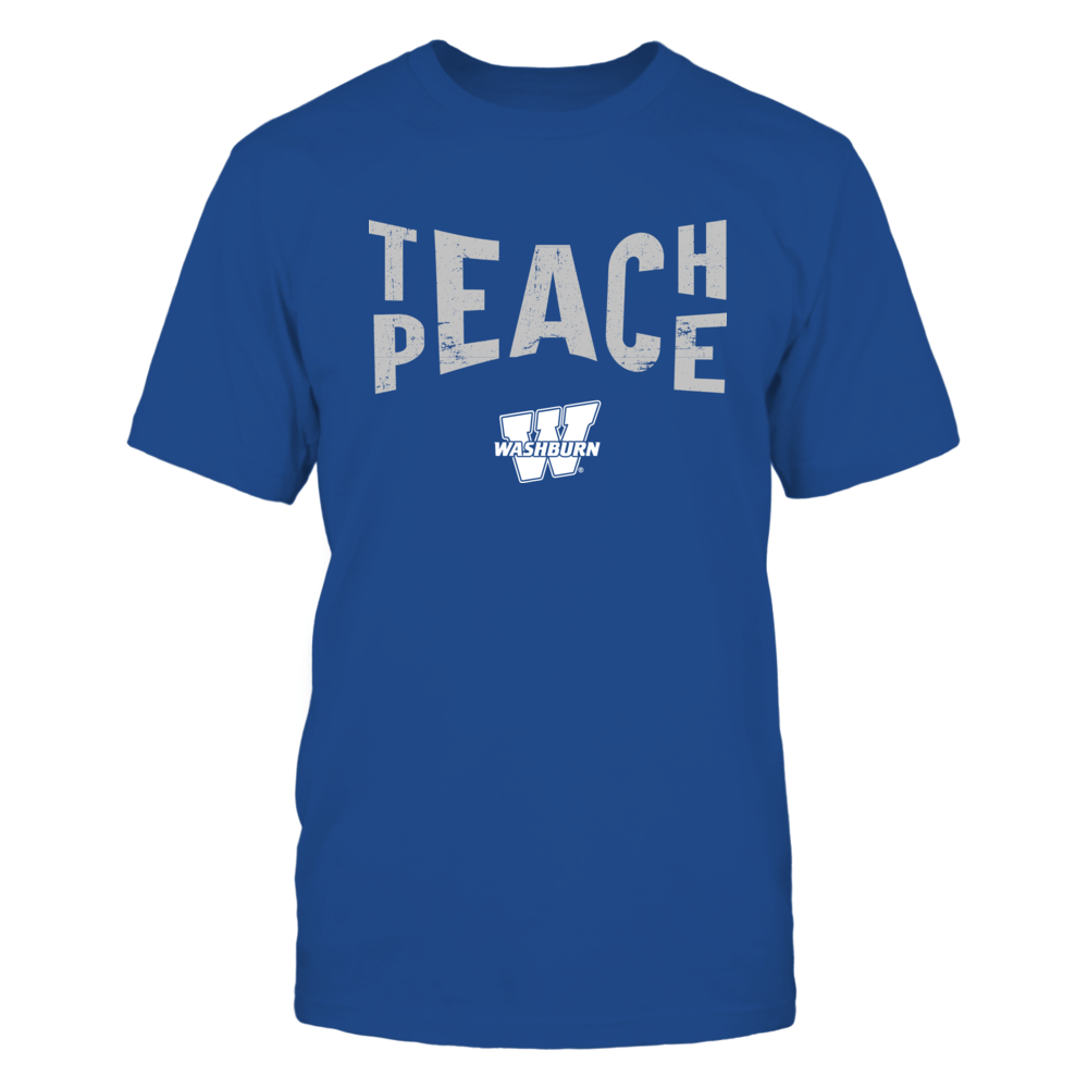 Washburn Ichabods - Teach Peace - Team Front picture