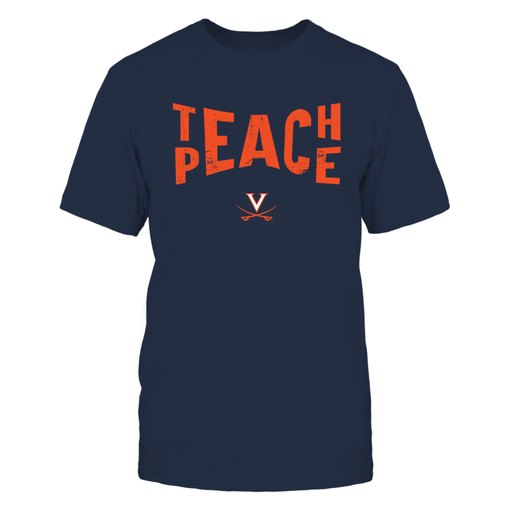 Virginia Cavaliers - Teach Peace - Team - IF-IC17-DS27 Front picture