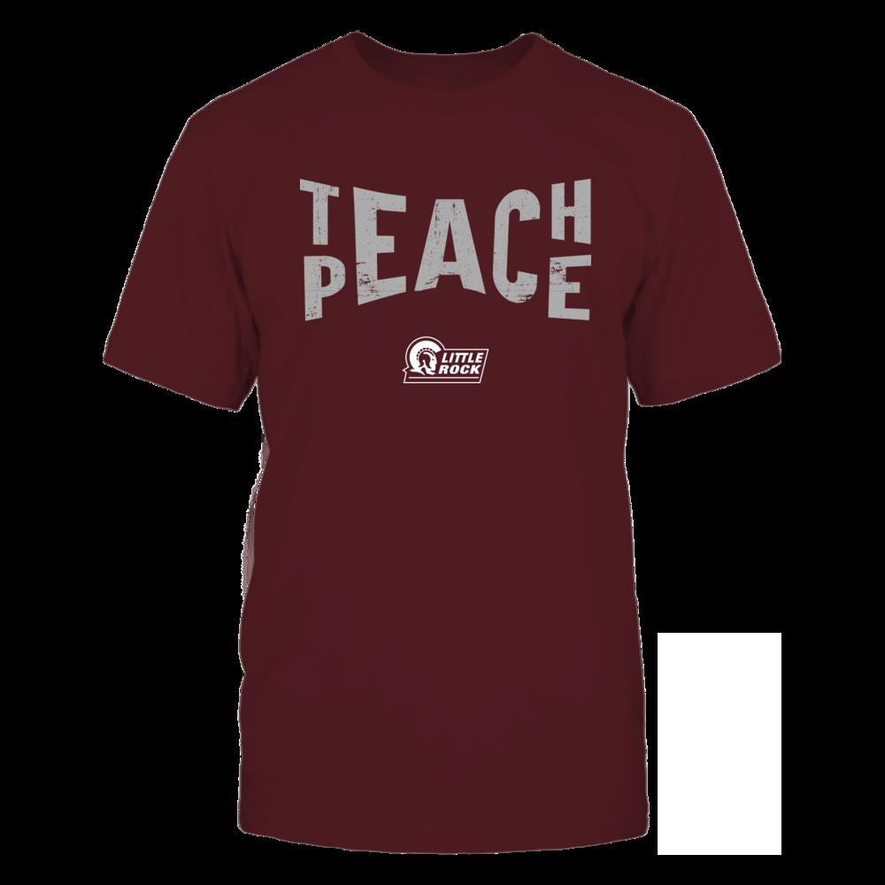 Arkansas Little Rock Trojans - Teach Peace - Team Front picture