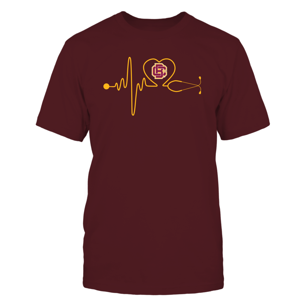 Bethune-Cookman Wildcats - Stethoscope - Heart Beat Front picture