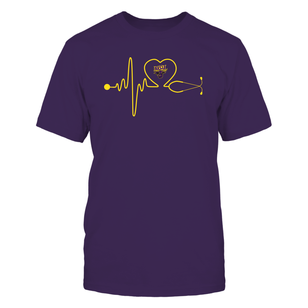 Minnesota State Mavericks - Stethoscope - Heart Beat Front picture