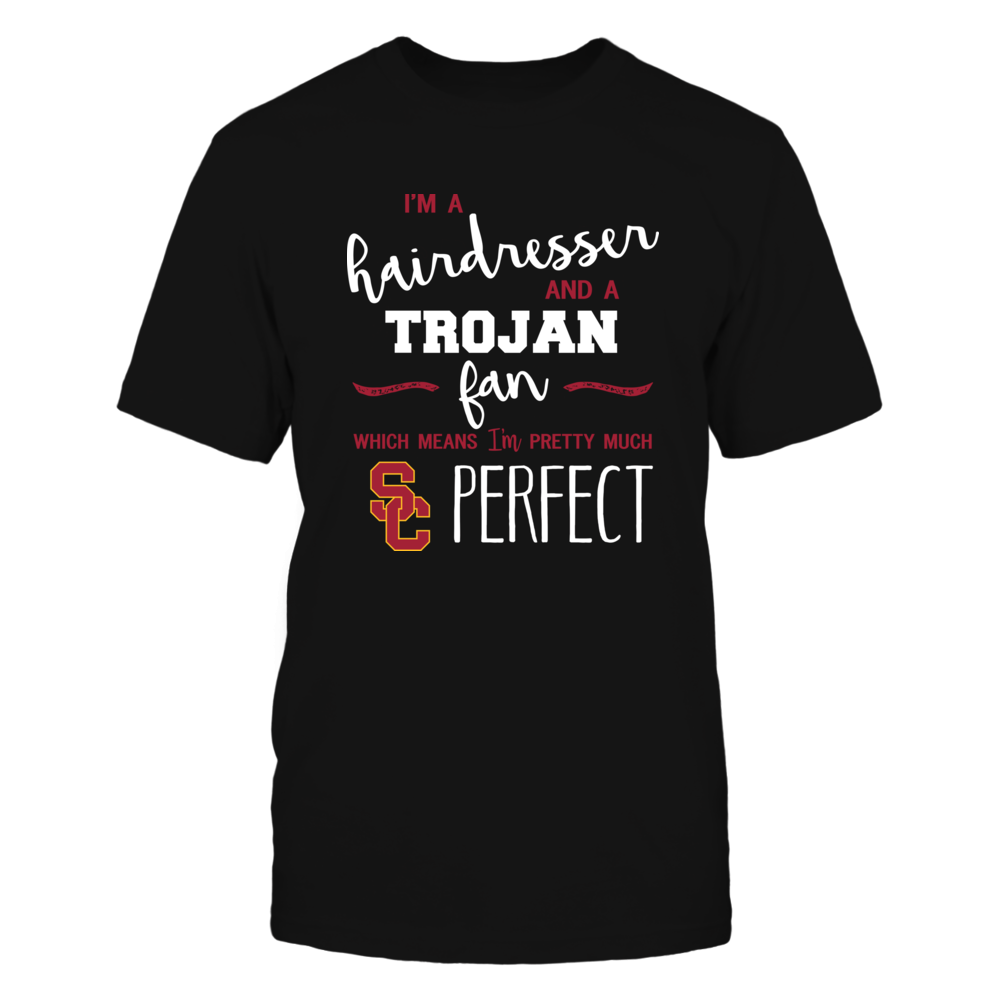 USC Trojans - Perfect Hairdresser - Team Front picture