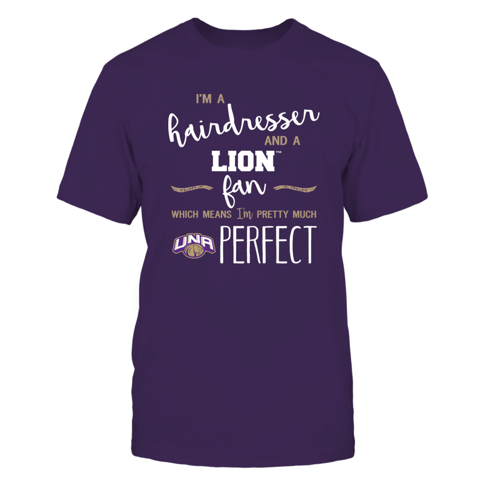 North Alabama Lions - Perfect Hairdresser - Team Front picture