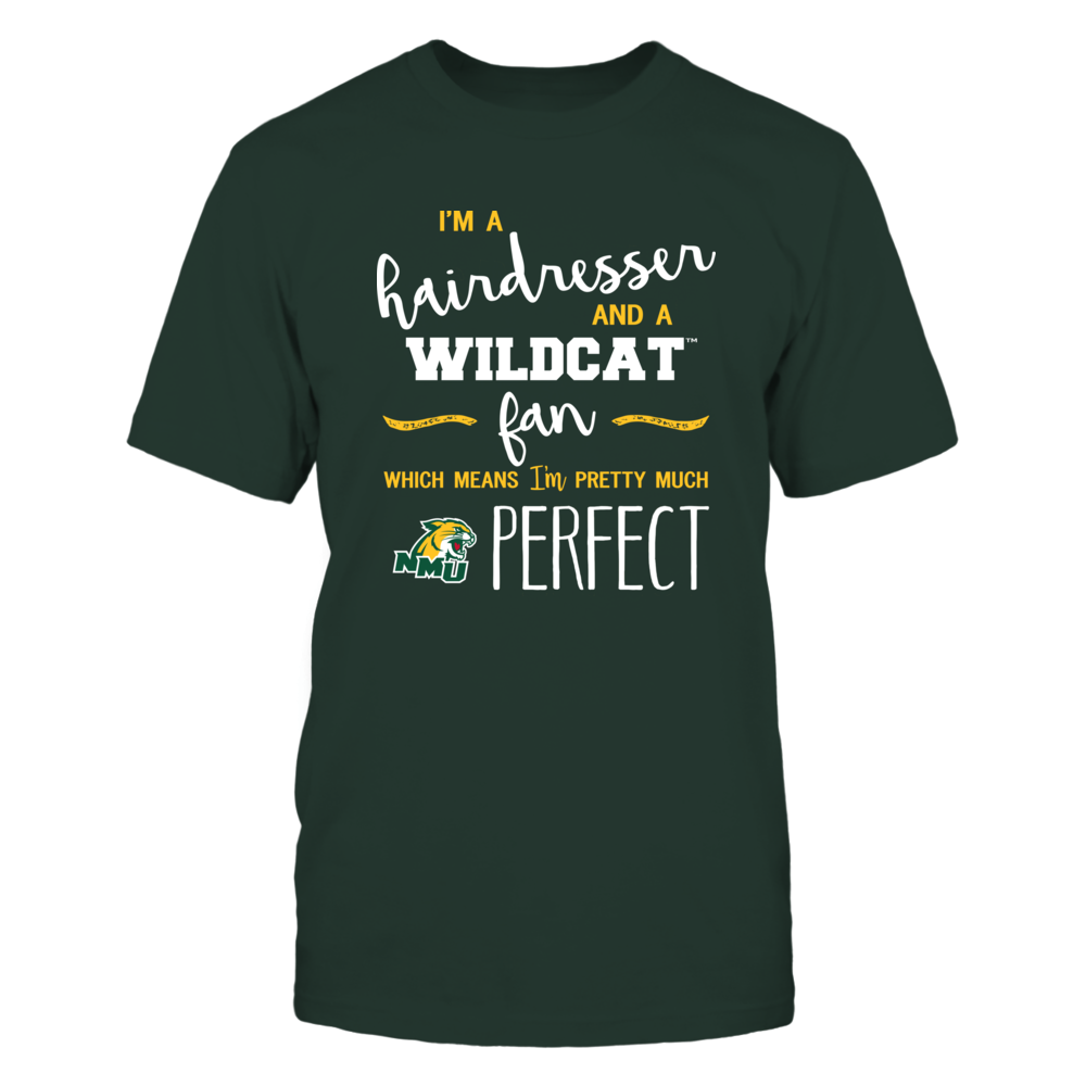Northern Michigan Wildcats - Perfect Hairdresser - Team Front picture