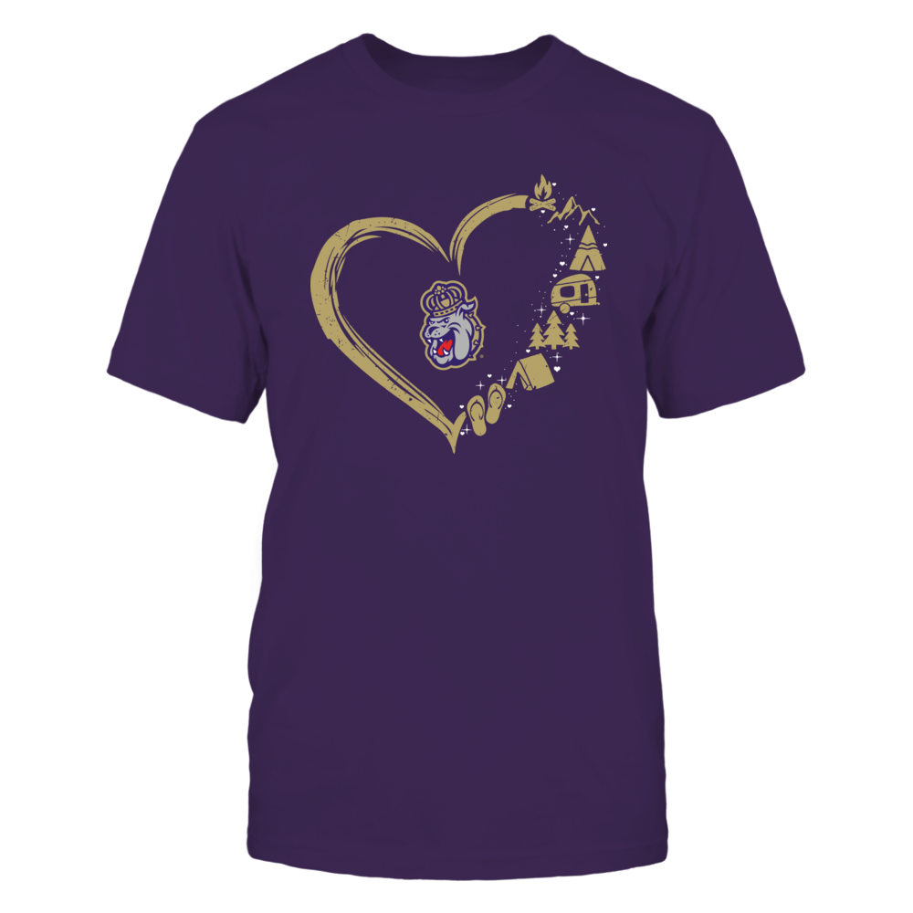 James Madison Dukes - Camping Things - Heart Outline Front picture