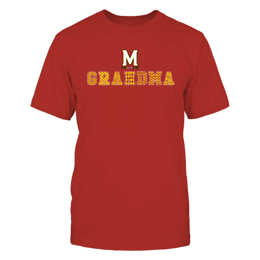 Maryland Terrapins - Patterned Grandma Front picture