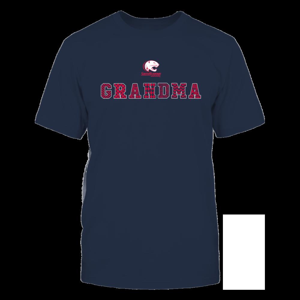 South Alabama Jaguars - Patterned Grandma Front picture