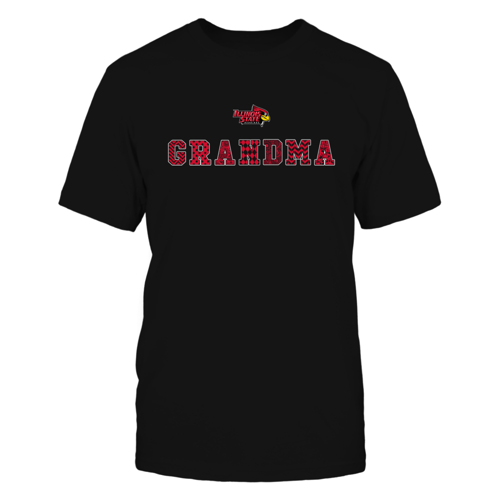Illinois State Redbirds - Patterned Grandma Front picture