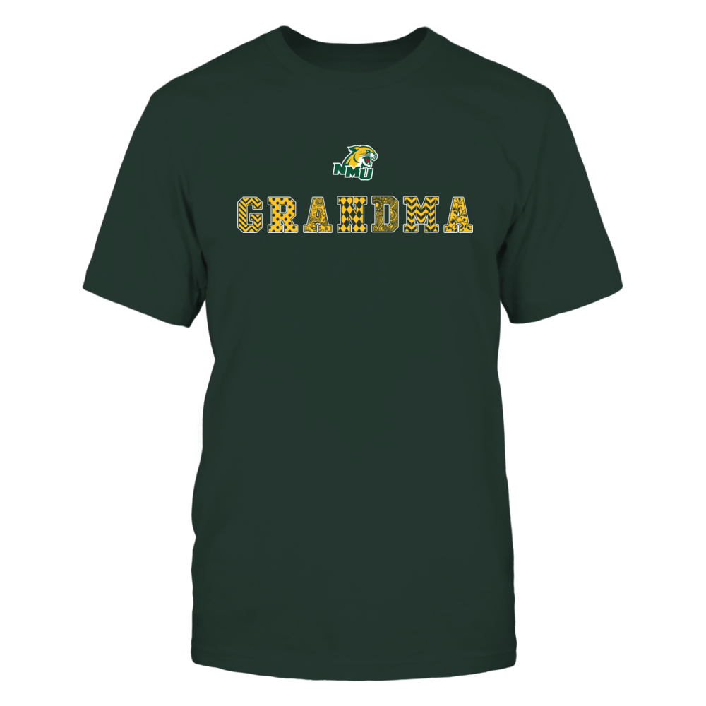 Northern Michigan Wildcats - Patterned Grandma Front picture