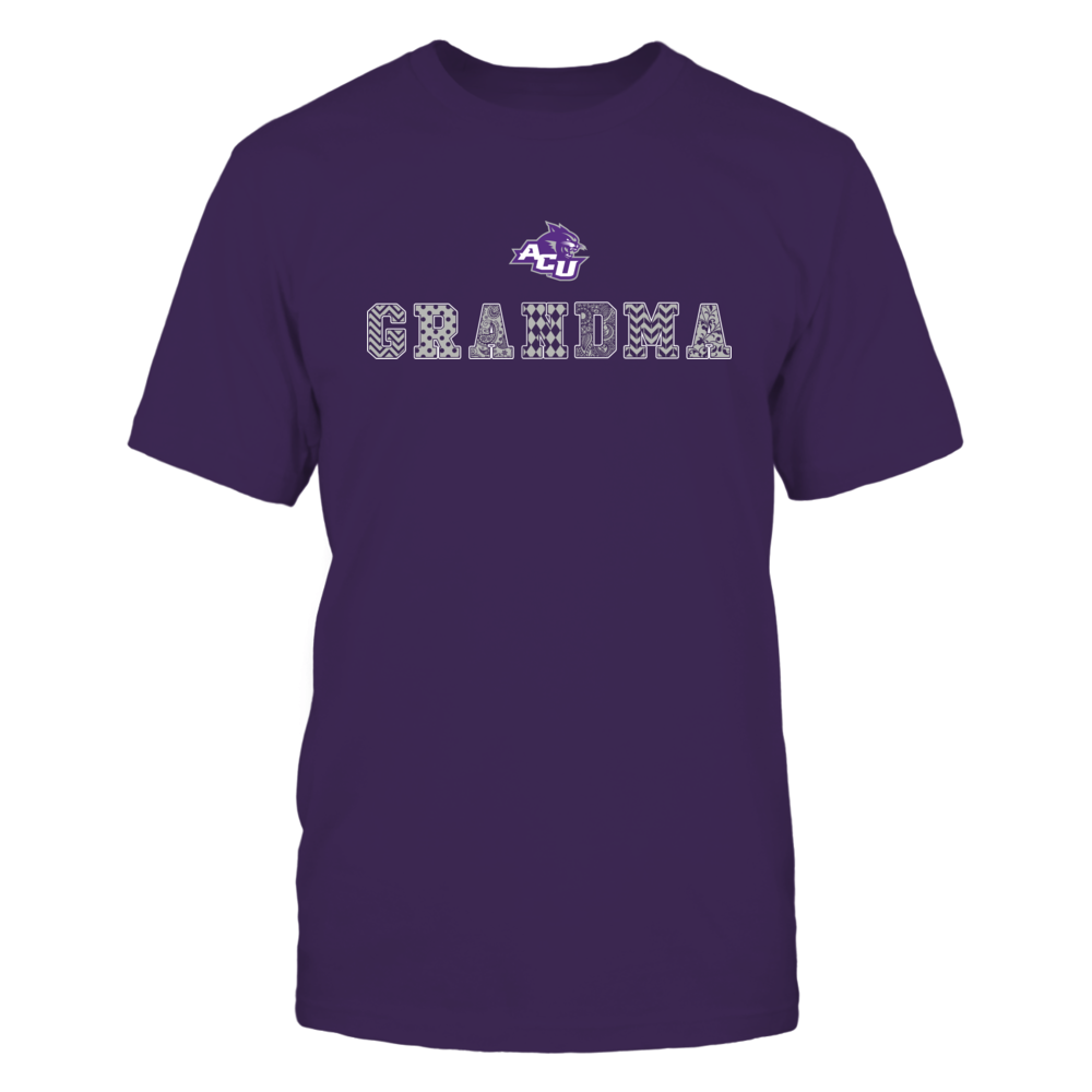 Abilene Christian Wildcats - Patterned Grandma Front picture