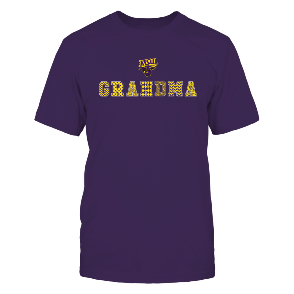 Minnesota State Mavericks - Patterned Grandma Front picture