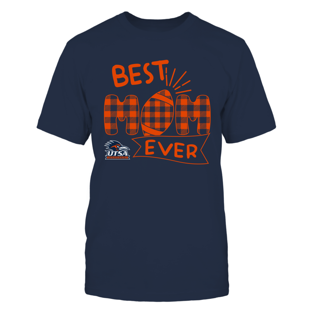 UTSA Roadrunners - Best Mom Ever - Patterned Football - Team Front picture