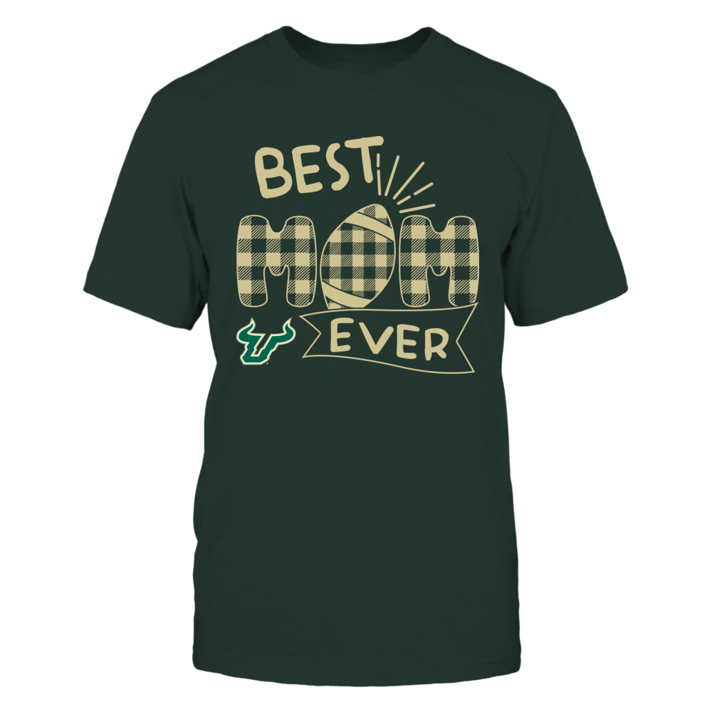 South Florida Bulls - Best Mom Ever - Patterned Football - Team Front picture