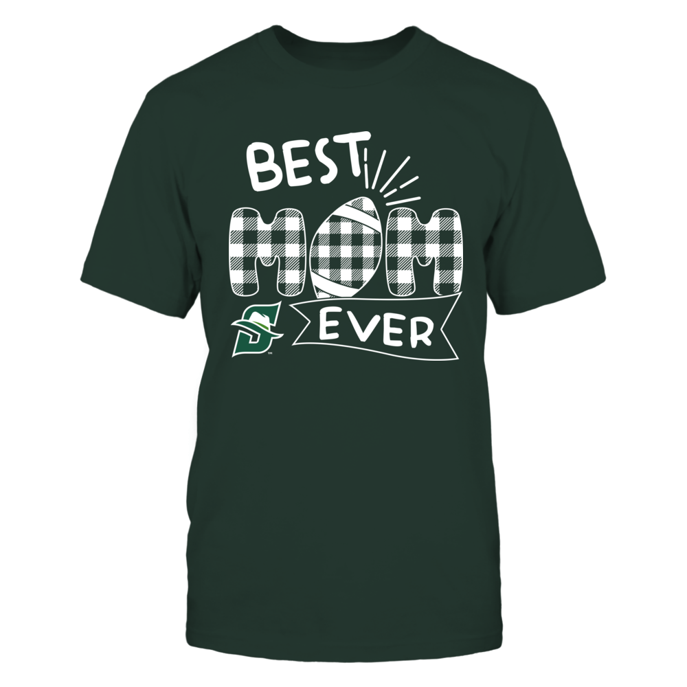 Stetson Hatters - Best Mom Ever - Patterned Football - Team Front picture
