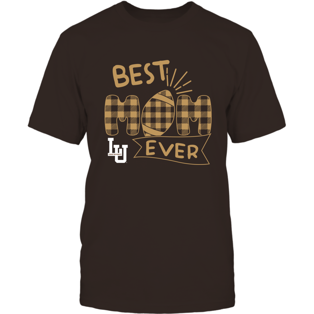 Lehigh Mountain Hawks - Best Mom Ever - Patterned Football - Team Front picture