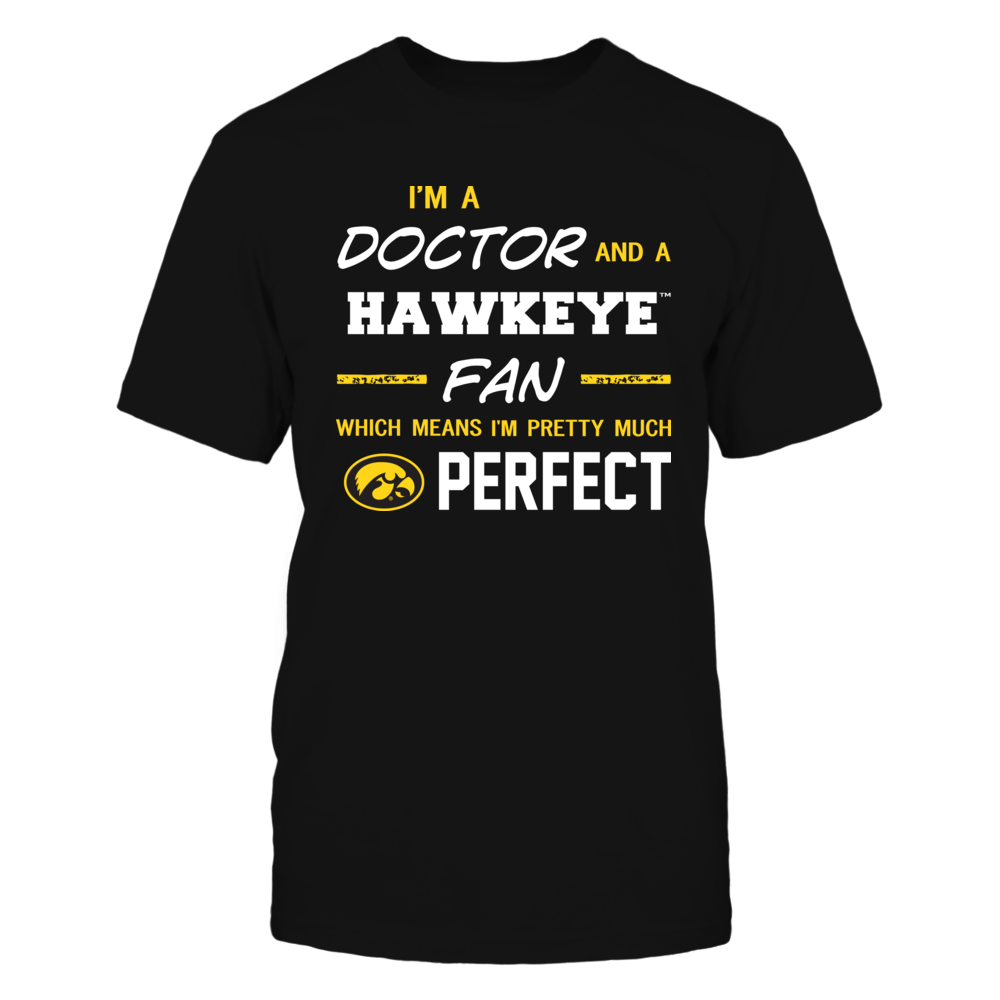 Iowa Hawkeyes - Perfect Doctor - Team - IF13-IC13-DS37 Front picture