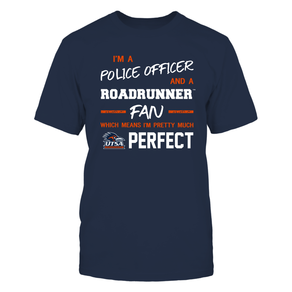 UTSA Roadrunners - Perfect Police Officer - Team Front picture