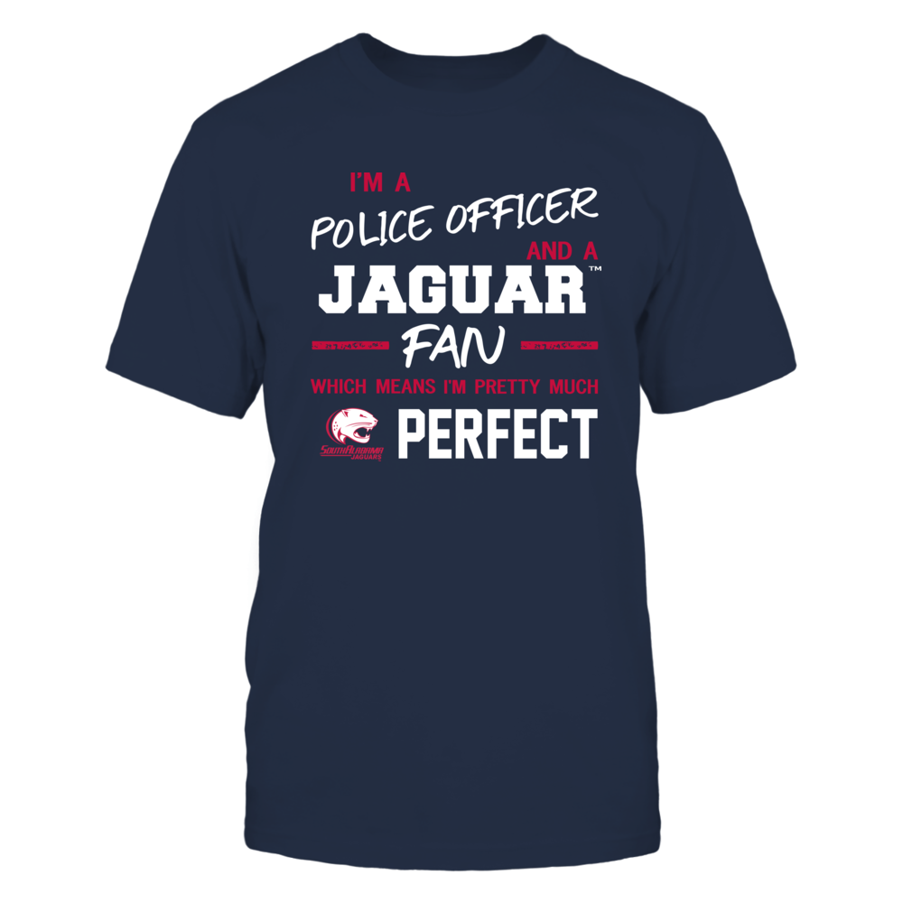 South Alabama Jaguars - Perfect Police Officer - Team Front picture