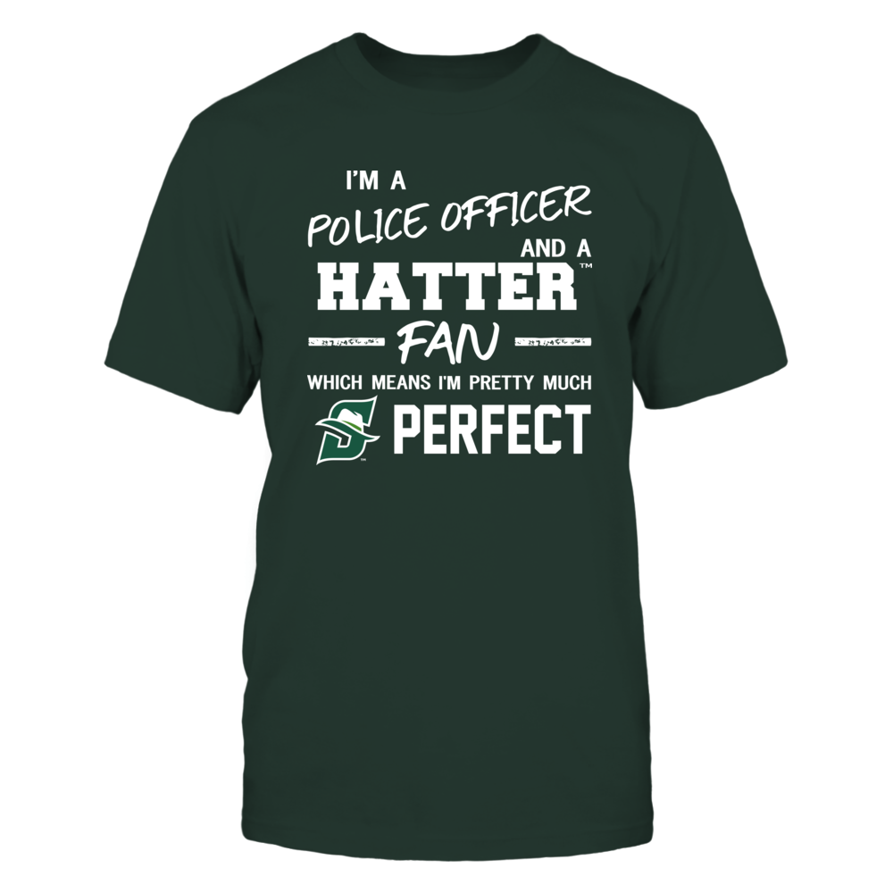 Stetson Hatters - Perfect Police Officer - Team Front picture