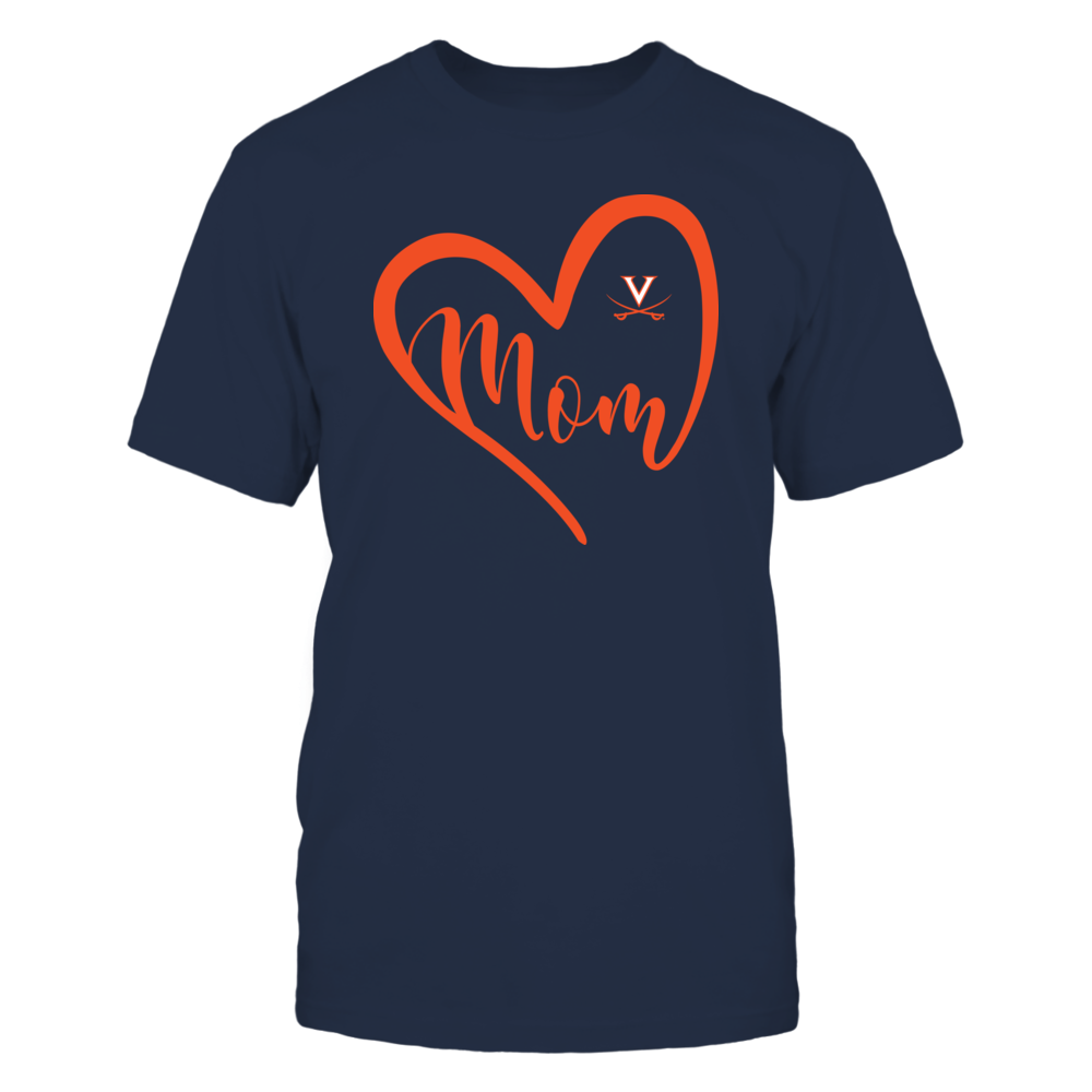 Virginia Cavaliers - Heart Mom - Team Front picture