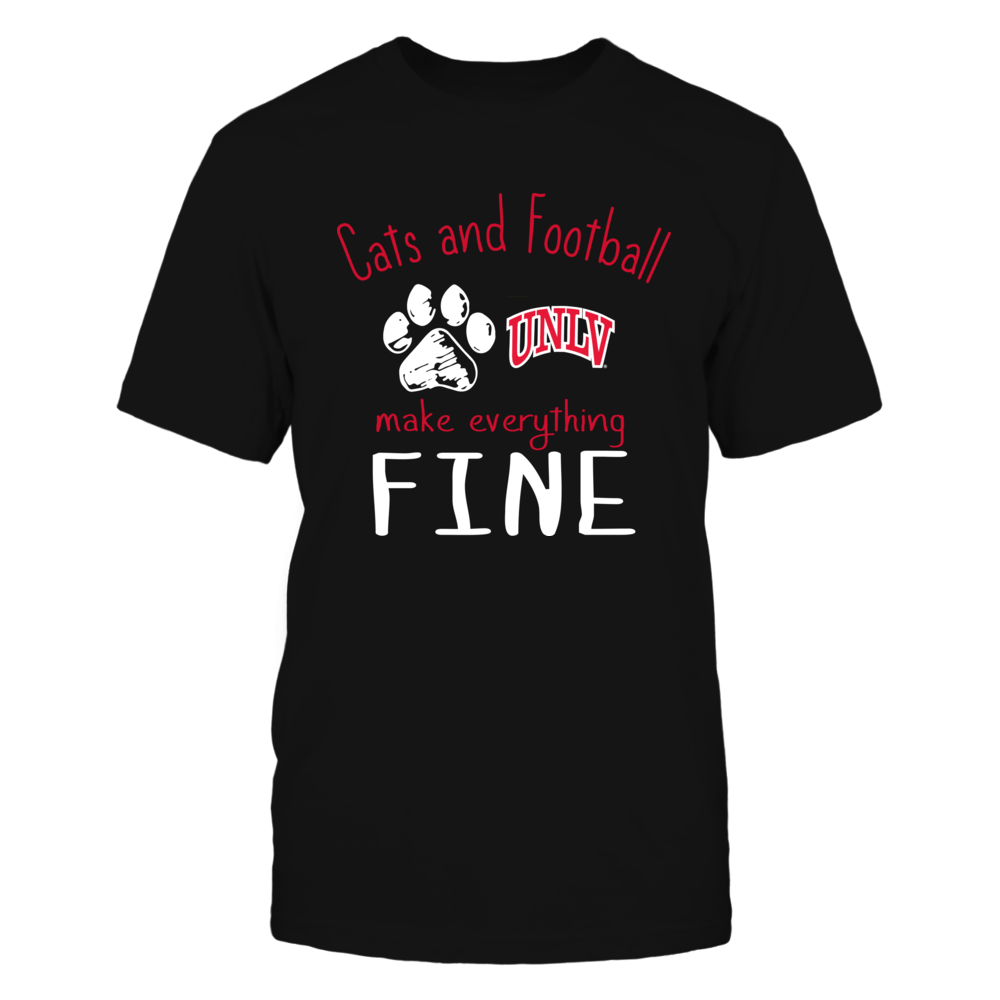 UNLV Rebels - Cats And Football Make Everything Fine Front picture