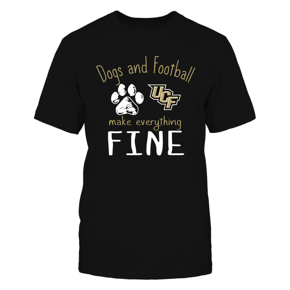 UCF Knights - Dogs And Football Make Everything Fine Front picture