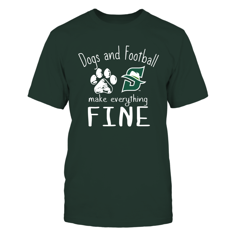 Stetson Hatters - Dogs And Football Make Everything Fine Front picture